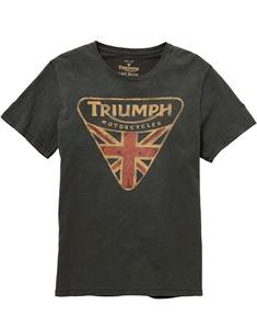 TRIUMPH T-SHIRT Silver