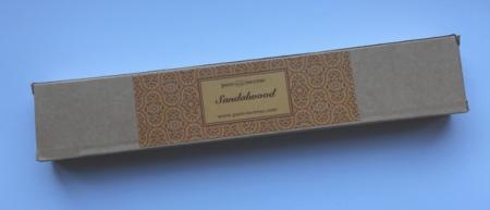 Sandalwood Indian Incense   Pure Incense Absolute   50 gram Box