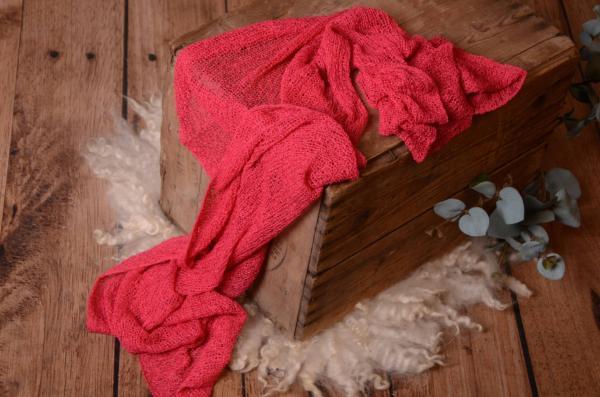 Fuchsia rayon wrap