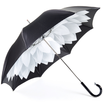 Lotus Silver Double Canopy Umbrella by Pasotti